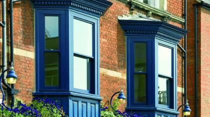 okna w stylu anglosaskim