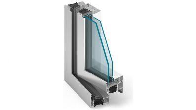 Plastbud Aluprof MB-86 ST okno aluminiowe