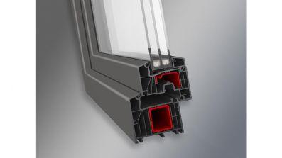Plastbud Ideal 7000 Aluplast okno PCV