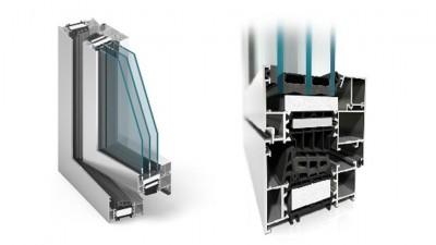 Plastimet Aluprof MB-86 okno aluminiowe