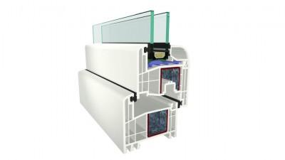 Plastimet Gealan S 8000 IQ okna PVC