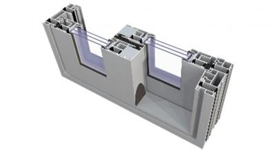 Aluminiowe tarasowe drzwi przesuwne HST Plastixal Ultraglide - profil Aliplast
