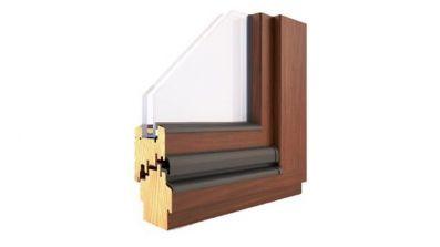 Pol-Skone Energy Concept 90 EI30 okno drewniane