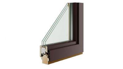 Pol-Skone Energy Concept 90 Plus Alu Effect pasywne okno drewniane z nakładką aluminiową