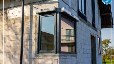 Prawidłowy montaż stolarki okiennej w Woli Radziszowskiej pod Krakowem