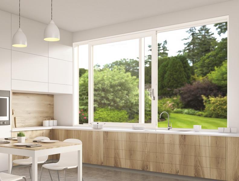 Aktualne Przesuwne okno kuchenne - wygoda i szczelność z okuciem Roto OC67