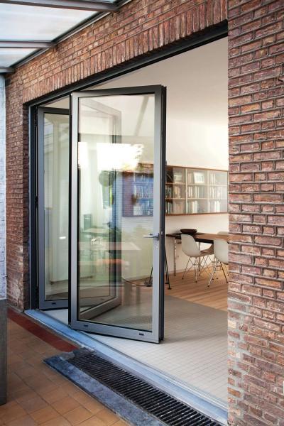 Bardzo dobra Drzwi tarasowe przesuwne czy składane? NL59
