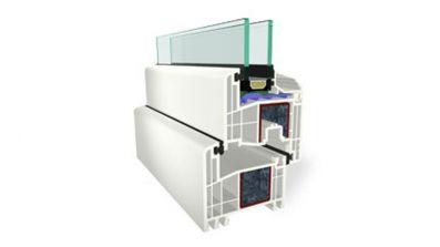 Sapor Gealan Kombisystem S 8000 okno PCV