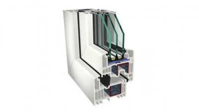 Sapor Gealan Kombisystem S 9000 okno PCV