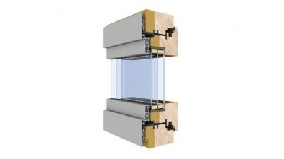 Słowińscy SPE okno drewniano-aluminiowe
