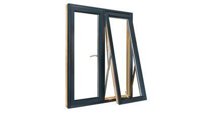 Sokółka Euro Alu okna drewniano-aluminiowe