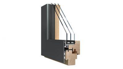 Sokółka Puro okna drewniano-aluminiowe
