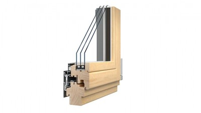 Sokółka Style 68 Alu okna drewniano-aluminiowe