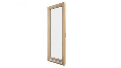 drewniane drzwi balkonowe Sokółka Thermo 80