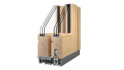 Sokółka Thermo HS drewniane drzwi przesuwne HST