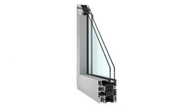 Okno aluminiowe Sonarol MB-86 - profil Aluprof