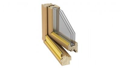 Okno drewniane Stollar IV 78 Euroline