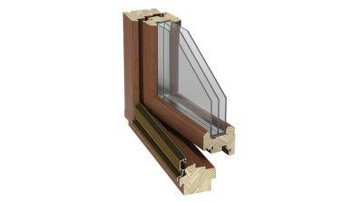 Okno drewniane Stollar IV 88 Euroline Retro