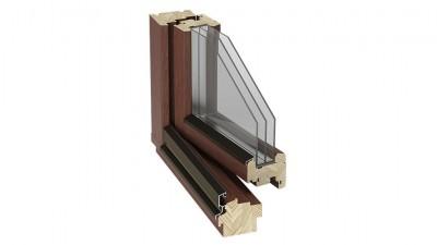 Okno drewniane Stollar IV 88 Euroline Soft