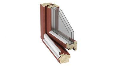 Okno drewniane Stollar IV 88 Euroline