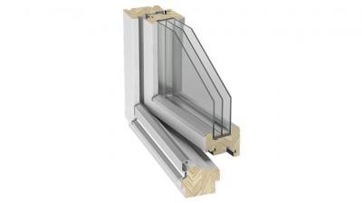 Okno drewniane Stollar IV 92 Euroline Soft