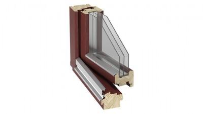 Okno drewniane Stollar IV 92 Euroline