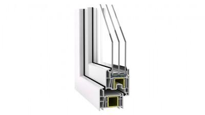 Okno PVC Stollar Slim Line 70
