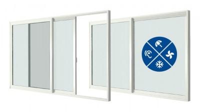 Stollar Smoovio - tarasowe drzwi przesuwne z PVC