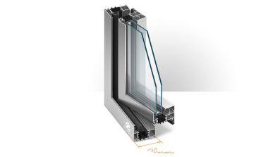 Okno aluminiowe Team Plast Aluprof MB-70