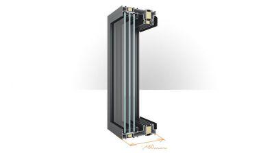 Drzwi aluminiowe unoszono-przesuwne HST Team Plast Yawal DP 180