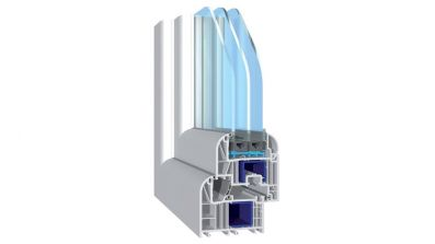 Termo Profil bluEvolution 82 Art Line okno PCV