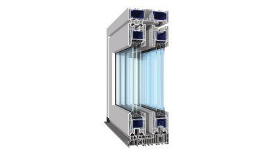 Termo Profil HS EvolutionDrive drzwi podnoszono-przesuwne HST z PCV