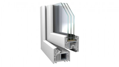 Thermofasada  Veka Softline 82 okno PCV