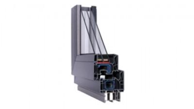 Thermofasada Schüco Living okno energooszczędne PCV