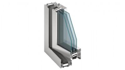 Thermofasada System MB-86 Aero okno aluminiowe z aerożelem