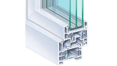 Tur-Plast Kömmerling 76 MD okno PCV
