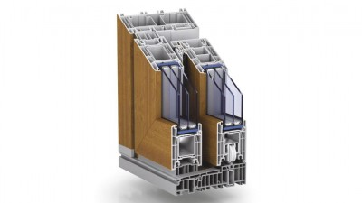 Tur-Plast Kömmerling PremiDoor 76 tarasowe drzwi przesuwne HST