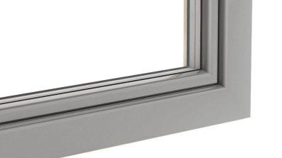 Osłona nakładka aluminiowa Softline na okna drewniane Urzędowski