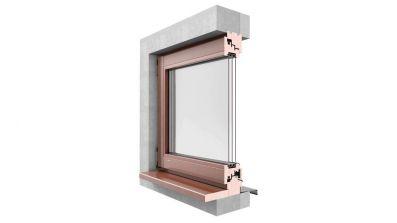 Okno drewniane Urzędowski Galux Modern