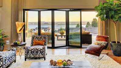 Tarasowe drzwi balkonowe harmonijkowe Vetrex Patio Space