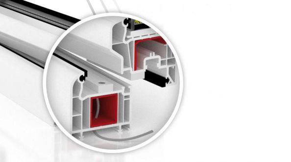 Kontaktrony w oknie. Całodobowa ochrona domu.