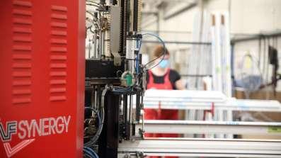 Maszyna zgrzewająca naroża okien PVC Vetrex