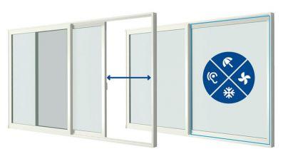 Vidok Inova Smoove - tarasowe drzwi przesuwne PCV