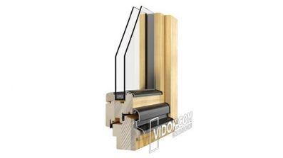 Vidok VD-68 okno drewniane