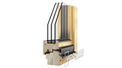 Vidok VD-92 okno drewniane