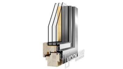 Vidok VDA-94 okno drewniano-aluminiowe