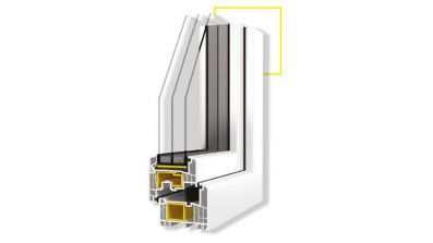 Vidok VP-83 okno PCV