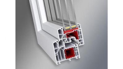 Wegiel Ideal 8000 okno PCV