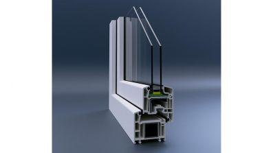 Wegiel Veka Perfectline okno PCV