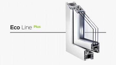 Wikęd Eco Line Plus okno PCV